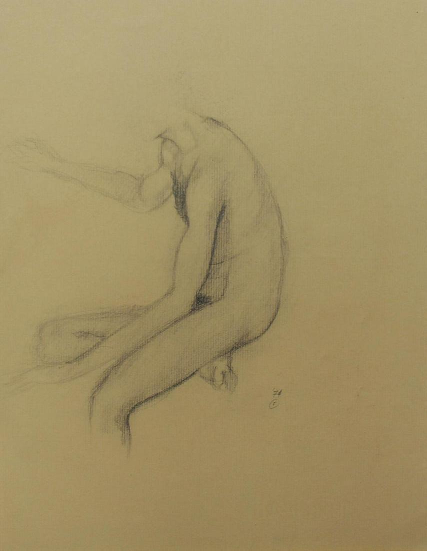 Bo Bartlett - Untitled Figure Study X