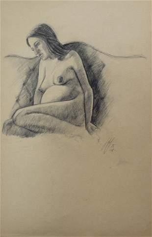 Bo Bartlett - Untitled Figure Study IV