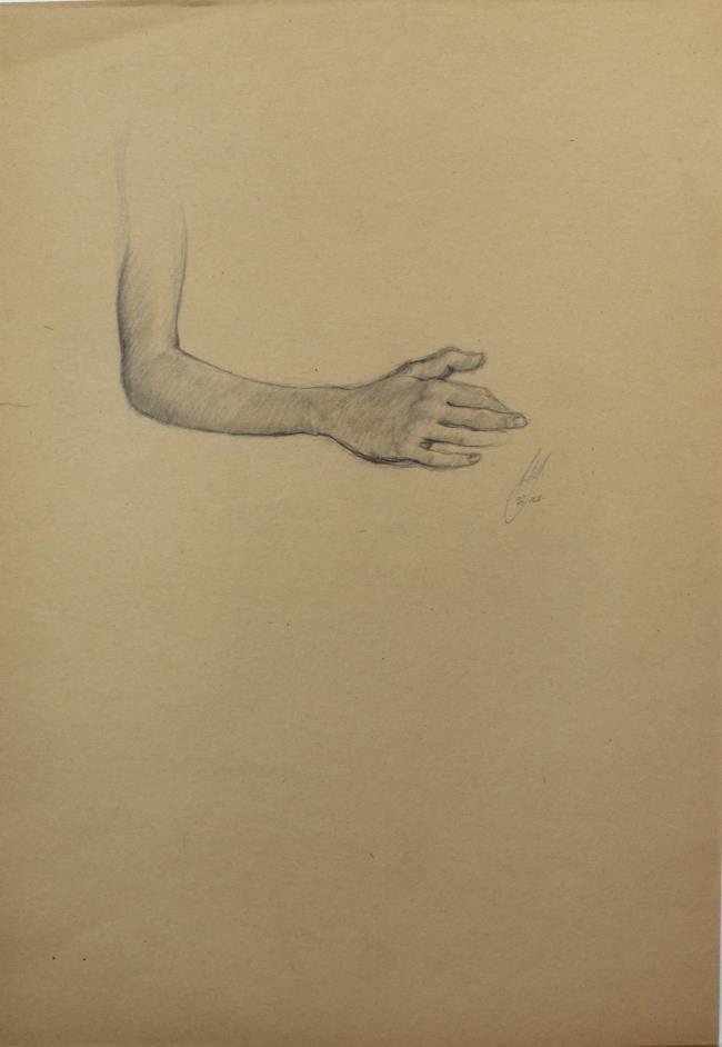 Bo Bartlett - Untitled Figure Study III
