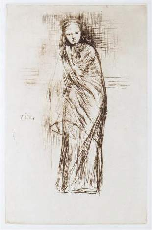 James McNeill Whistler (After) - The Model Resting