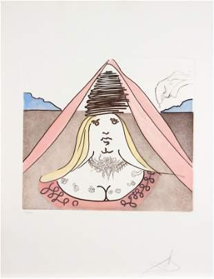 Salvador Dali - The Lady Dulcinea