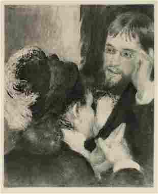 Pierre-Auguste Renoir - La Conversation.