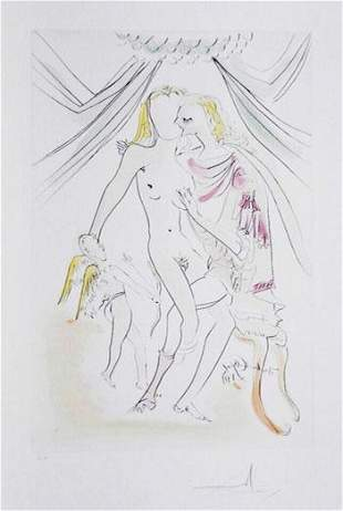 Salvador Dali - Venus Mars et Cupidon