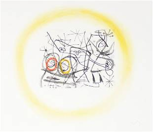 Joan Miro - Preparatifs d'Oiseaux II
