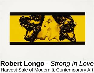 Robert Longo - Strong in Love (Yellow)