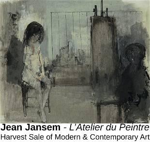 Jean Jansem - L'Atelier du Peintre