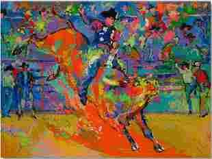 LeRoy Neiman - Adriano Bull Rider