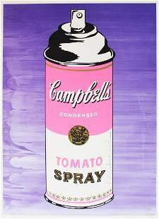 Mr. Brainwash - Tomato Spray