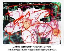 James Rosenquist - New York Says It