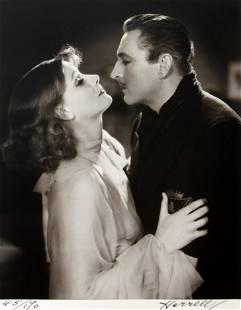 George Hurrell - Greta Garbo and John Barrymore