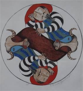 Graciela Rodo Boulanger - Hommes et Taureau (Matadors)