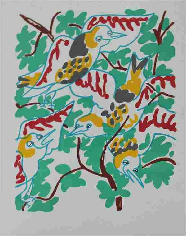 """Charles Lapicque - """"Le Chant Des Oiseaux"""" from"""