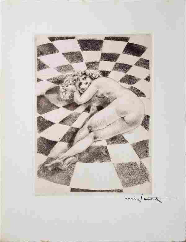 """Louis Icart - Untitled from """"Les Amours de Psyche de"""