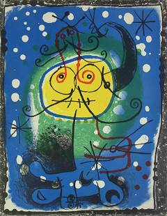 Joan Miro - Variation II (for XXe Siecle)