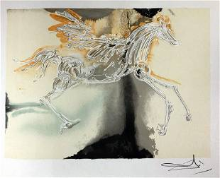 Salvador Dali - Pegasus