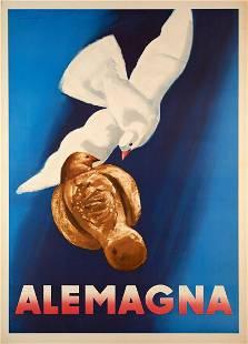 Marcelo Dudovich - Alemagna (Vintage Poster)