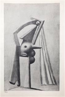 Pablo Picasso - Baigneuse
