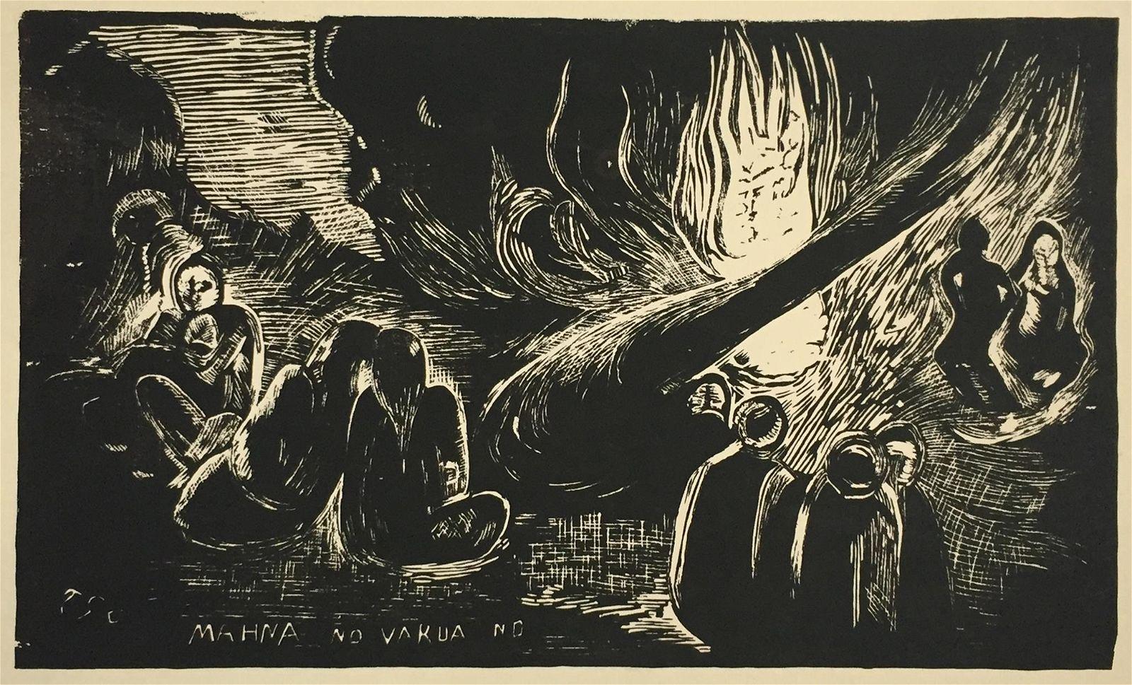 Paul Gauguin - The Devil's Speech