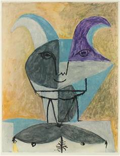 Pablo Picasso - Untitled (Faun III)