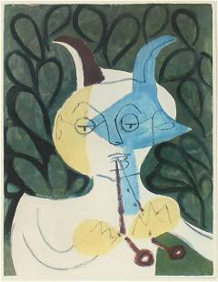 Pablo Picasso - Untitled (Faun with Double Flute IV)