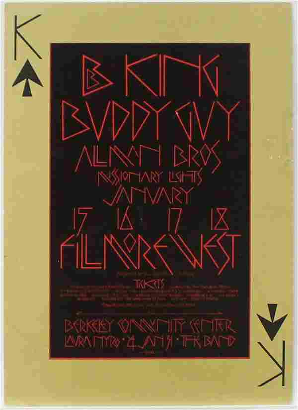 David Singer - BB King Buddy Guy Allman Bros
