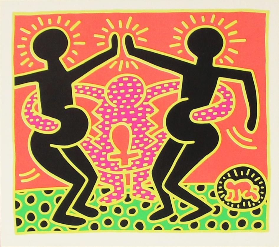 Keith Haring - Untitled from Fertility Suite