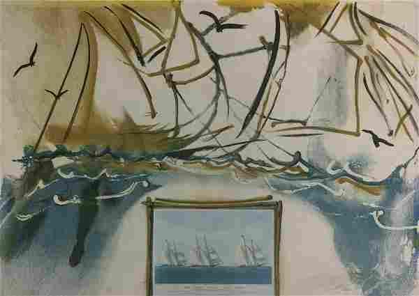 Salvador Dali - American Yacht Races