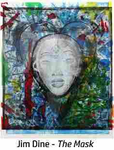 Jim Dine - The Mask