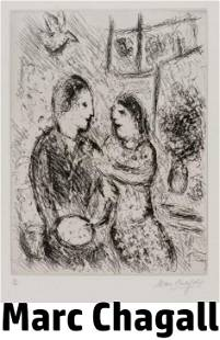 Marc Chagall - L'Artiste et Sa Femme