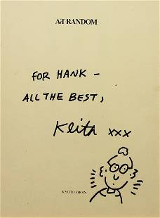 Keith Haring - For Hank - All The Best