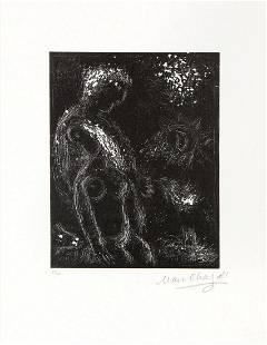 Marc Chagall - Faut-il Peindre la Terrele Ciel Mon