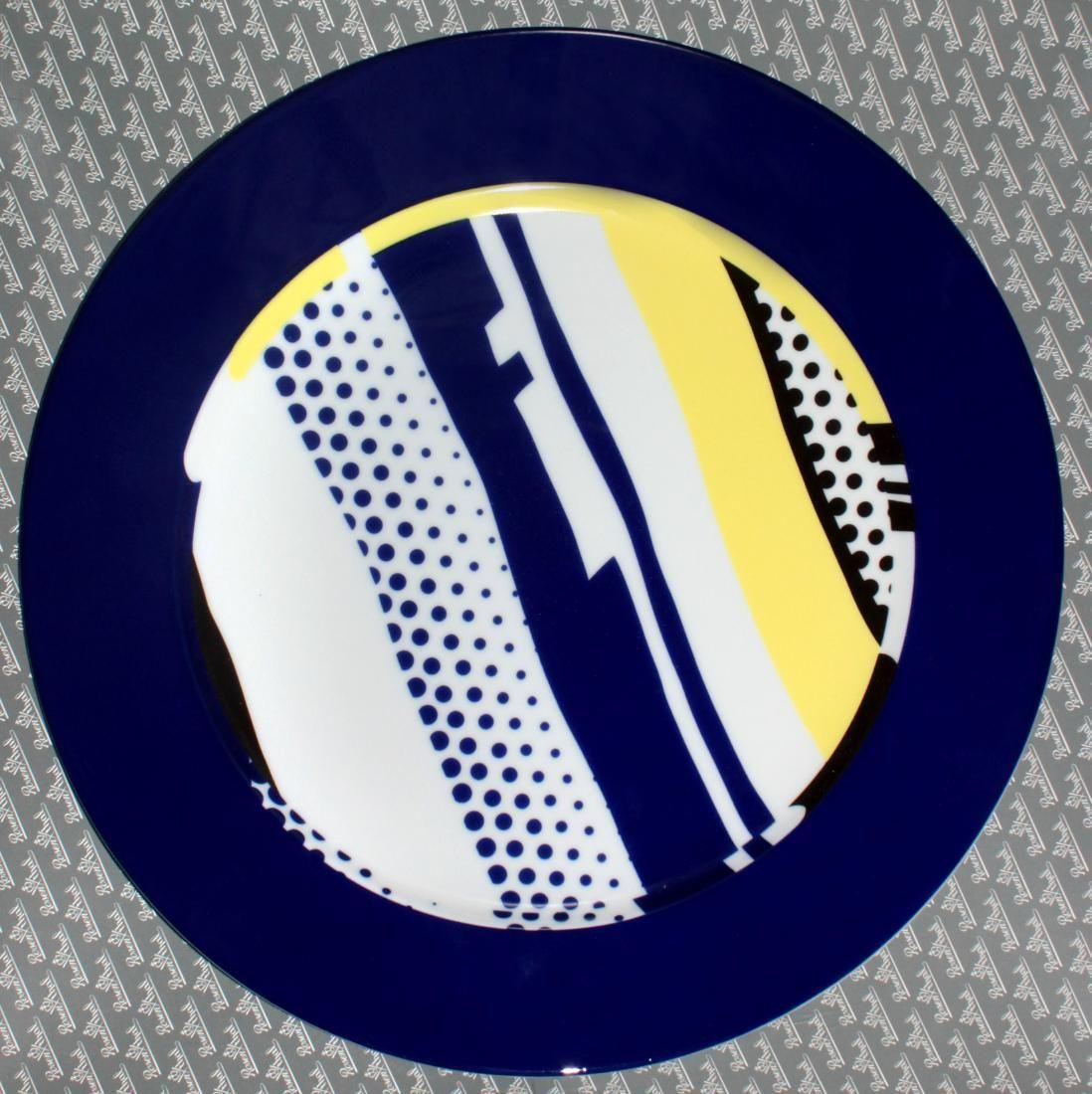 Roy Lichtenstein - Porcelain Plate