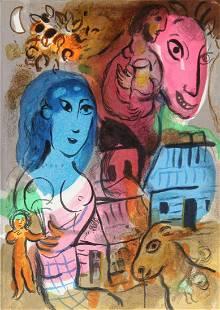 Marc Chagall - Xxeme Century Homage A Marc Chagall