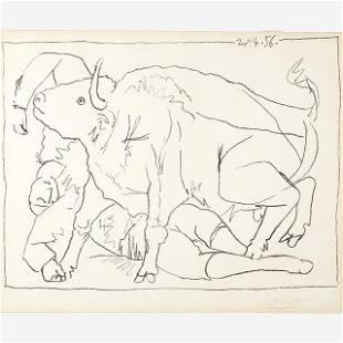 Pablo Picasso - Le Torero Blesse