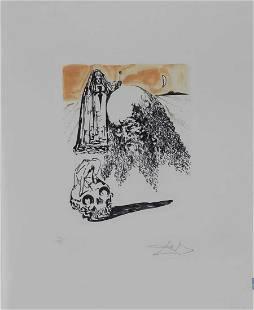Salvador Dali - Viellart Tete de Mort