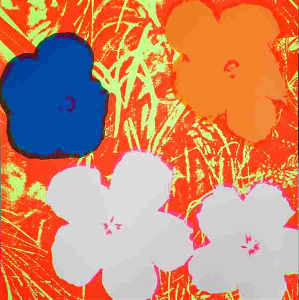 Andy Warhol After - Flowers