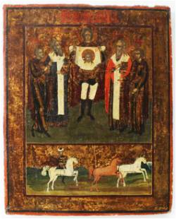Unknown Artist - Icon of the Cathedral of St. Micheal