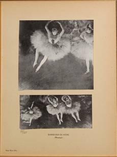 Edgar Degas - Danseuses en Scene.