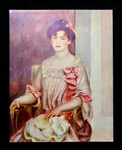 Pierre-Auguste Renoir (After) - Portrait de Madame J.