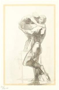 Auguste Rodin - Faune et Enfant