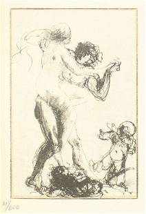 Auguste Rodin - Untitled Dance