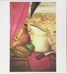 Fernando Botero (After) - Untitled (Still Life)