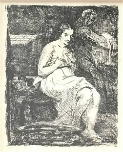 Edouard Manet (After) - La Toilette