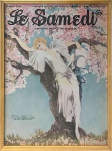 Louis Icart - Spring Blossoms for Le Samedi
