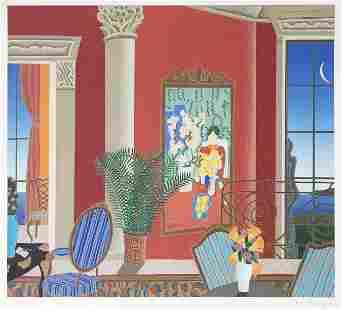 Thomas McKnight - Red Matisse