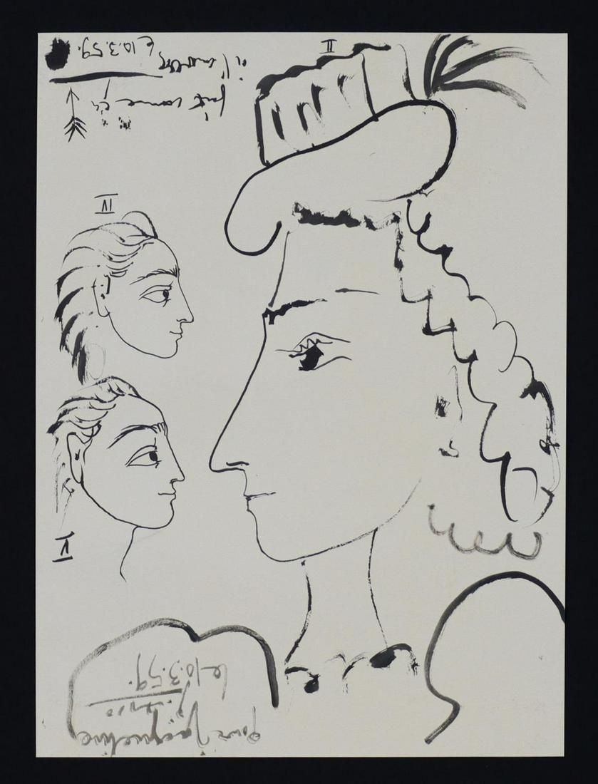 Pablo Picasso - Untitled (10.3.59)