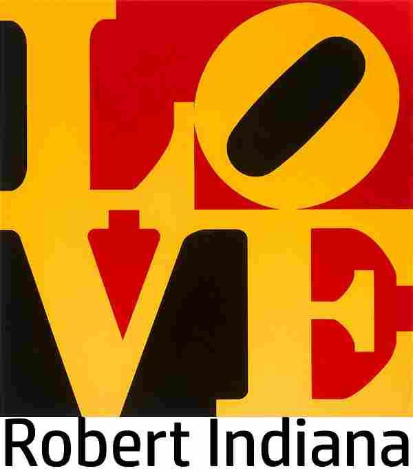 Robert Indiana - The German LOVE