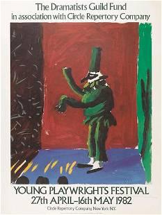 David Hockney - The Dramatists Guild Fund Circle