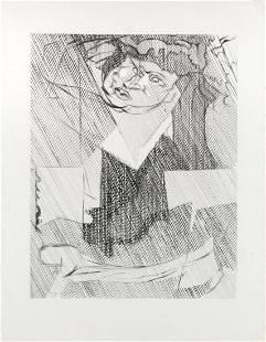Jacques Villon - Cubist Man