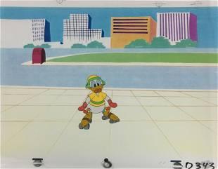 Disney - Donald Duck Roller Skating